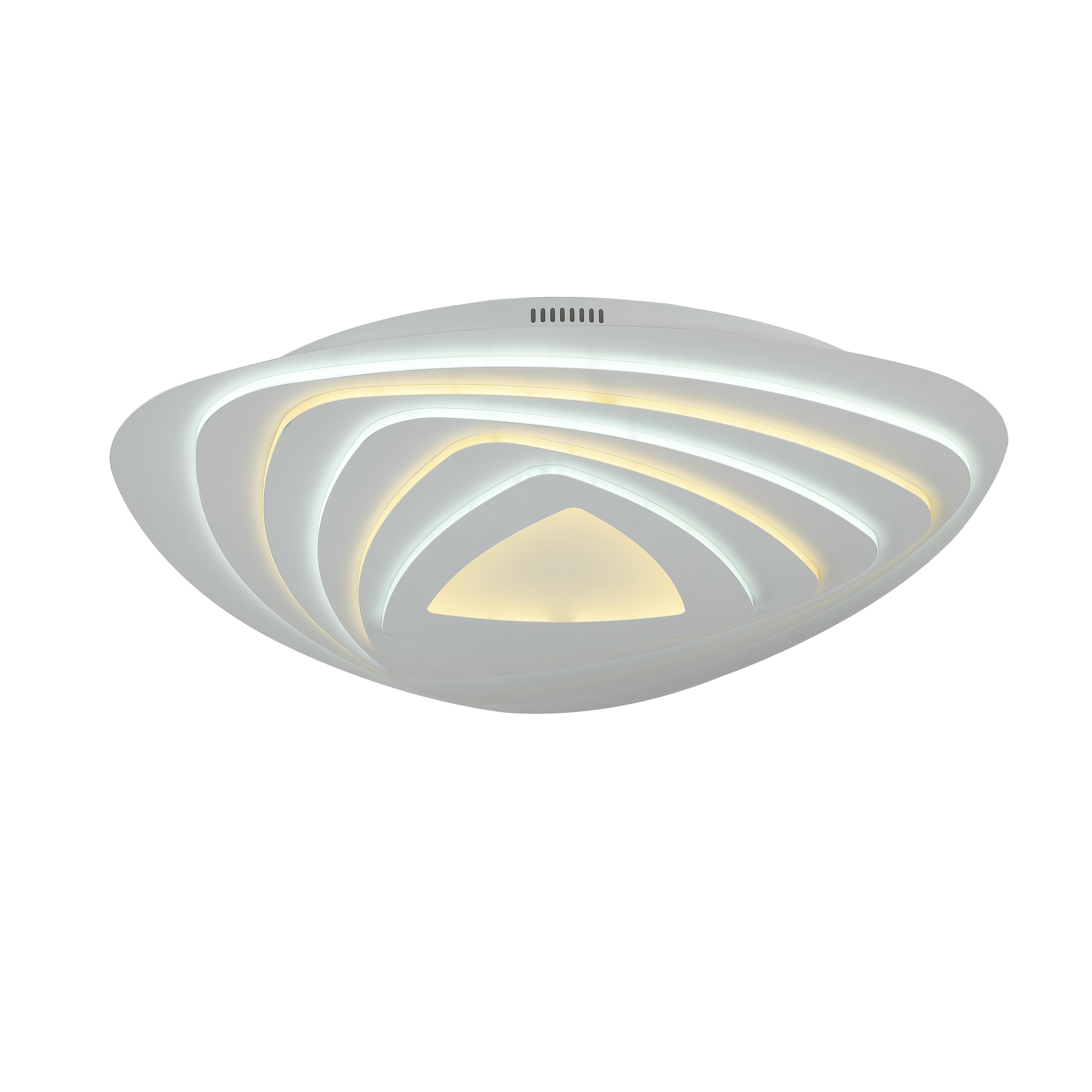 Потолочный светильник с пультом ДУ Favourite F-Promo LEDolution 2288-8C 3000-6400K, белый, металл, пластик - фото 1