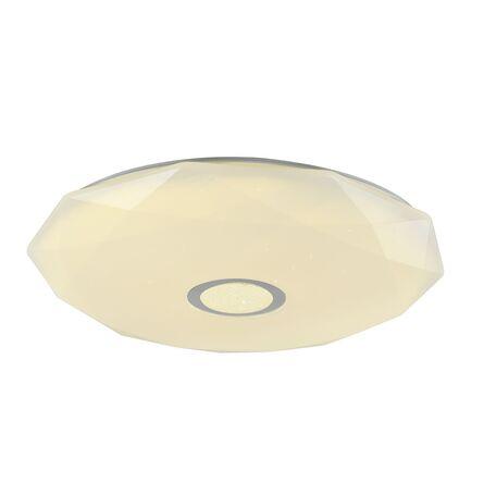 Потолочный светильник с пультом ДУ Favourite F-Promo Perpetum 2317-7C 3000-6500K, белый, металл, пластик