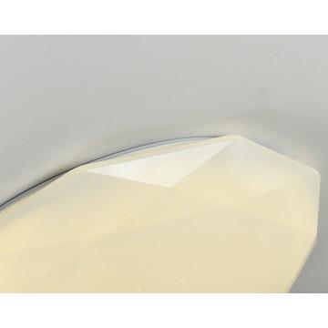 Потолочный светильник с пультом ДУ Favourite F-Promo Perpetum 2317-7C 3000-6500K, белый, металл, пластик - миниатюра 4