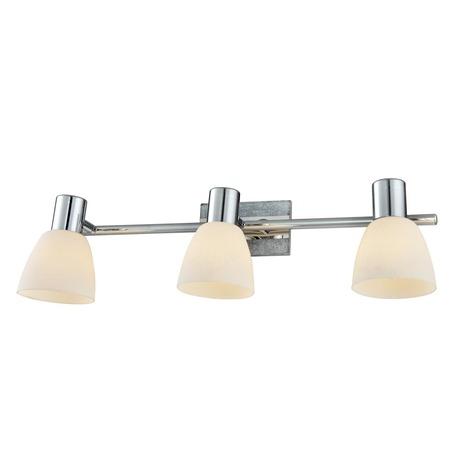 Бра с регулировкой направления света Toplight Sabina TL3700Y-03GR, 3xE14x40W, серый с хромом, белый, металл, стекло