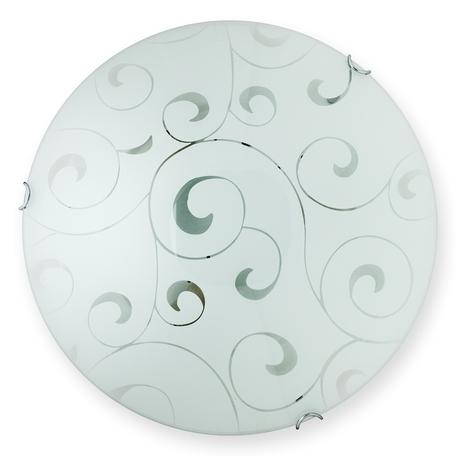 Потолочный светильник Toplight Kelly TL9041Y-02WH, 2xE27x60W, хром, белый, металл, стекло