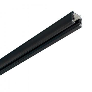 Шинопровод Ideal Lux Link Trim Profile 249629, черный, металл