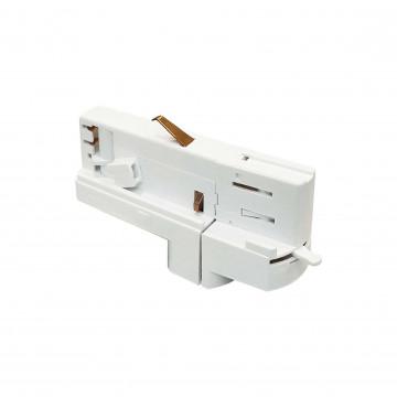 Соединитель Ideal Lux Link Track Connector 246505, белый, металл