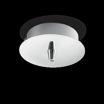 База для подвесного монтажа светильника Ideal Lux ROSONE METALLO 1 LUCE ROUND CROMO 122830, хром, металл