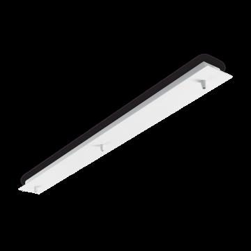 База для подвесного монтажа светильника Ideal Lux ROSONE METALLO 3 LUCI BIANCO 122854, белый, металл