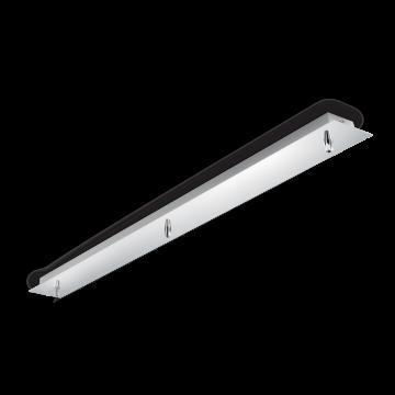 База для подвесного монтажа светильника Ideal Lux ROSONE METALLO 3 LUCI CROMO 122861, хром, металл