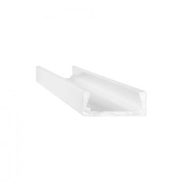 Ideal Lux SLOT SURFACE 11 x 1000 mm AL 124124 (SLOT SURFACE 11 x 1000 mm ALUMINUM), алюминий, белый, металл, пластик
