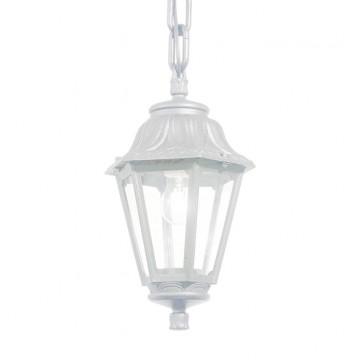 Подвесной светильник Ideal Lux ANNA SP1 BIANCO 120485, IP44, 1xE27x60W, белый, прозрачный, пластик