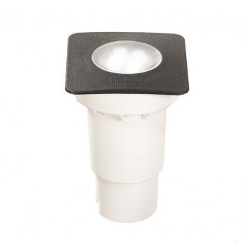 Встраиваемый светильник Ideal Lux CECI SQUARE FI1 SMALL 120317, IP67, 1xGU10x4,5W, черный, пластик