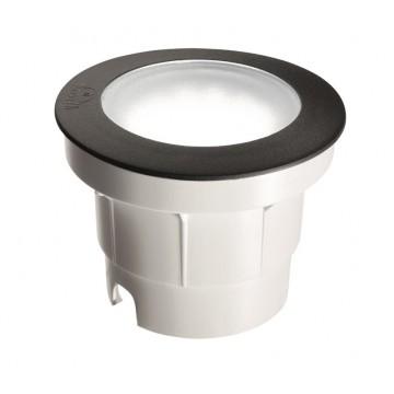 Встраиваемый светильник Ideal Lux CECI ROUND FI1 BIG 120324, IP67, 1xGX53x10W, черный, пластик