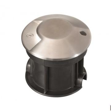 Встраиваемый светодиодный светильник Ideal Lux ROCKET-1 PT1 122014, IP65, LED 3W 4000K (дневной) 200lm, сталь, металл, стекло