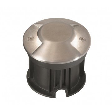 Встраиваемый светодиодный светильник Ideal Lux ROCKET-2 PT1 122021, IP65, LED 3W 4000K (дневной) 200lm, сталь, металл, стекло