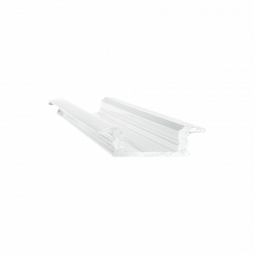 Встраиваемый профиль для светодиодной ленты с рассеивателем Ideal Lux SLOT RECESSED TRIM 12 x 1000 mm WH 124155 (SLOT RECESSED TRIM 12 x 1000 mm WHITE), белый, металл, пластик
