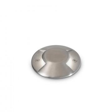 Встраиваемый в уличное покрытие светодиодный светильник Ideal Lux ROCKET-2 PT1 122021, IP65, LED 3W 4000K 200lm, сталь, металл, стекло