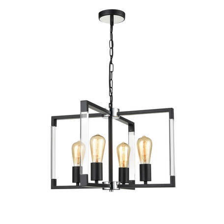 Подвесной светильник Vele Luce Turin 10095 VL5022P04, 4xE27x60W