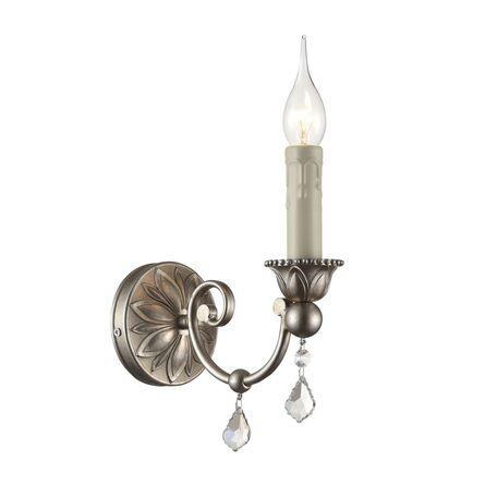 Бра Maytoni Francis RC141-WL-01-G (arm141-01-g), 1xE14x60W, перламутровый, прозрачный, металл, стекло