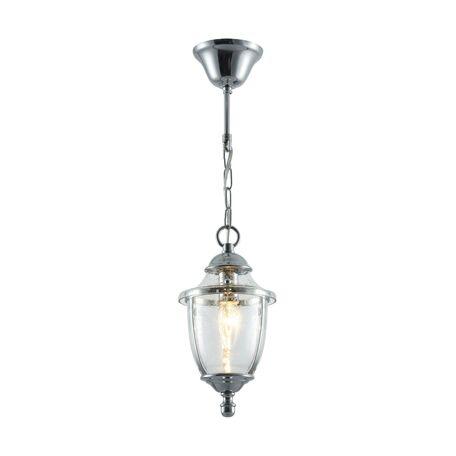 Подвесной светильник Maytoni Classic House Zeil H356-PL-01-CH, 1xE14x60W, хром, прозрачный, металл, стекло