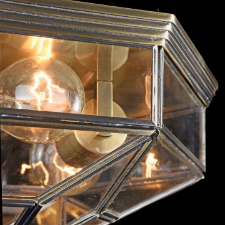 Потолочный светильник Maytoni Classic House Zeil H356-CL-03-BZ, 3xE27x60W, бронза, прозрачный, металл, стекло - миниатюра 5