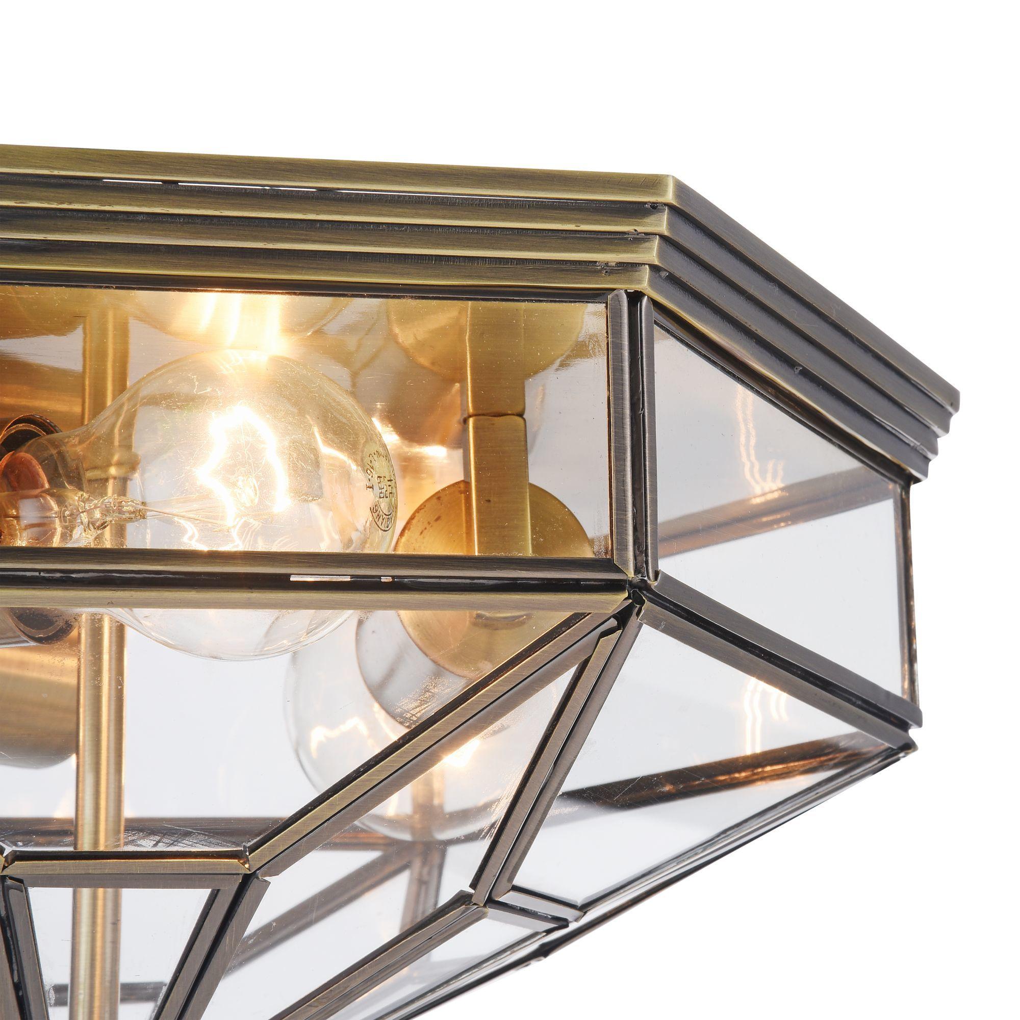 Потолочный светильник Maytoni Classic House Zeil H356-CL-03-BZ, 3xE27x60W, бронза, прозрачный, металл, стекло - фото 5