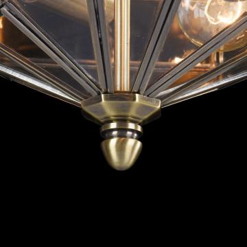 Потолочный светильник Maytoni Classic House Zeil H356-CL-03-BZ, 3xE27x60W, бронза, прозрачный, металл, стекло - миниатюра 6