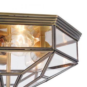 Потолочный светильник Maytoni Classic House Zeil H356-CL-03-BZ, 3xE27x60W, бронза, прозрачный, металл, стекло - миниатюра 8