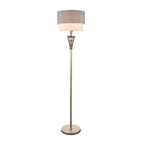 Торшер Maytoni Lillian H311-FL-01-G, 1xE27x100W, серебро, серый, металл, текстиль - миниатюра 2