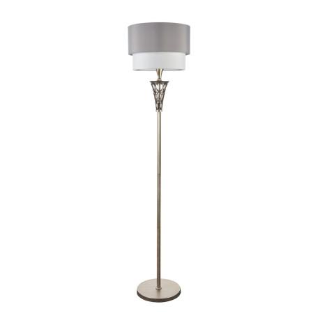 Торшер Maytoni Lillian H311-FL-01-G, 1xE27x100W, серебро, серый, металл, текстиль - миниатюра 3