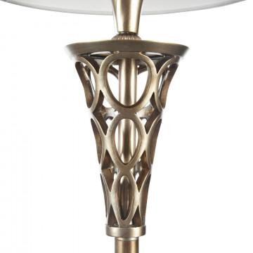 Торшер Maytoni Lillian H311-FL-01-G, 1xE27x100W, серебро, серый, металл, текстиль - миниатюра 9