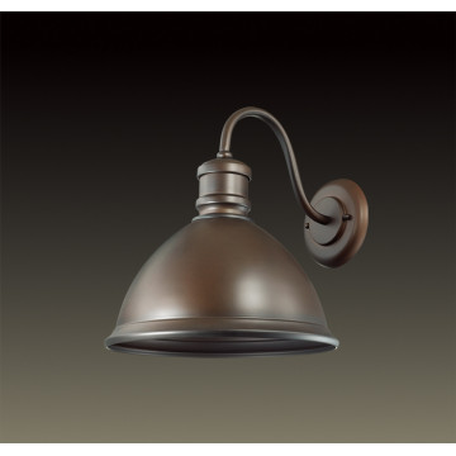 Бра Odeon Light Talva 2900/1WA, 1xE27x60W, коричневый, металл