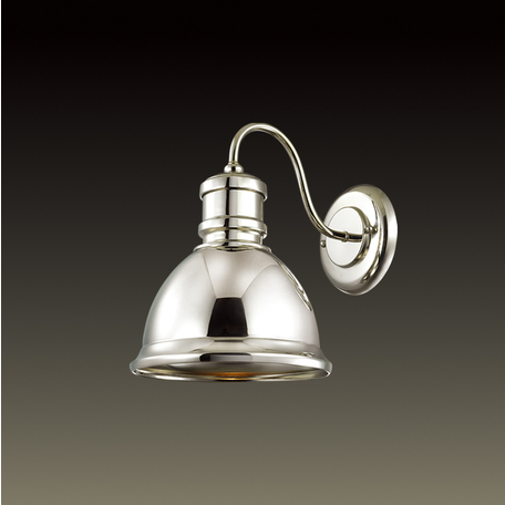 Бра Odeon Light Talva 2901/1W, 1xE27x60W, хром, металл - миниатюра 1