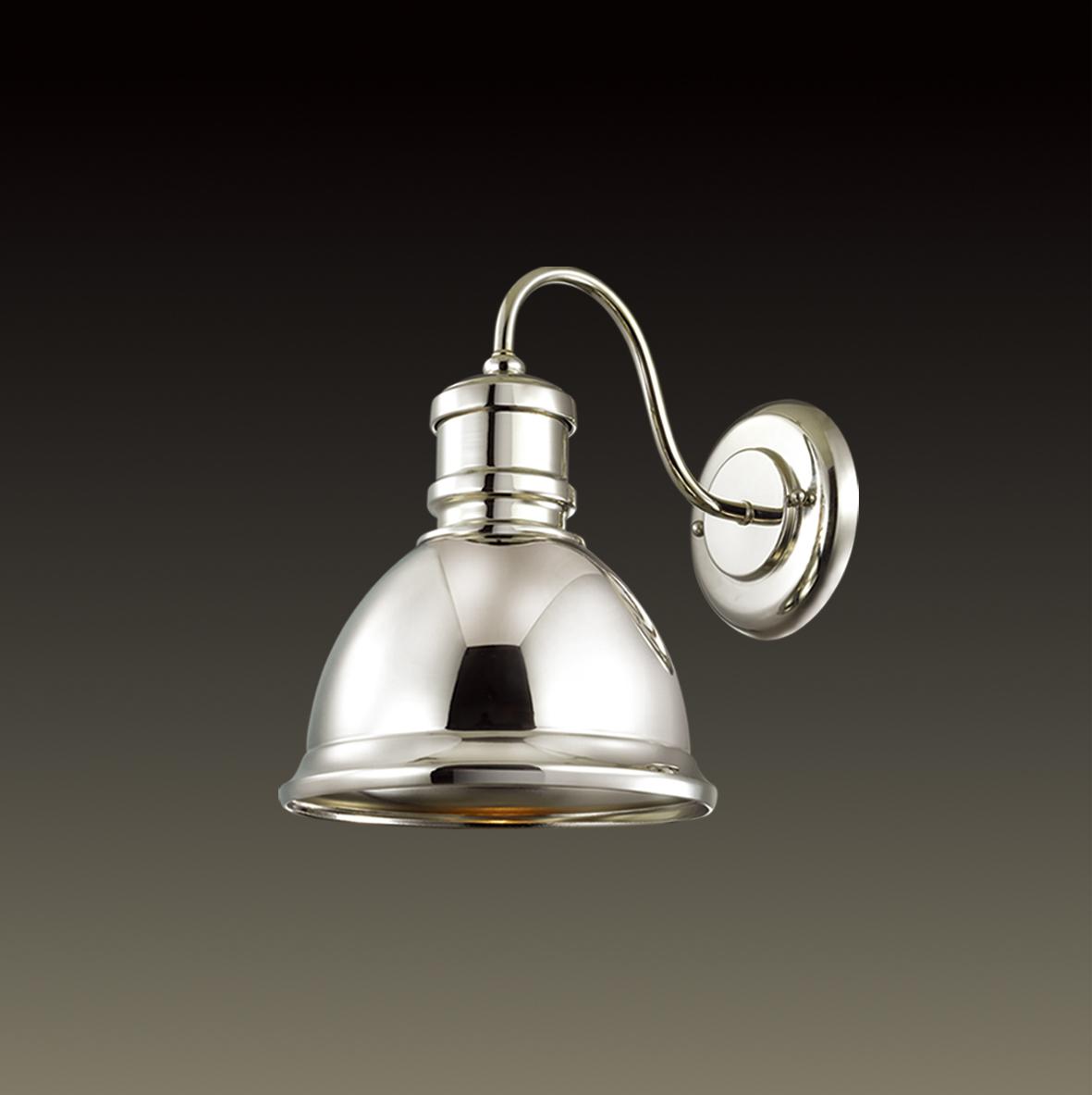 Бра Odeon Light Talva 2901/1W, 1xE27x60W, хром, металл - фото 1