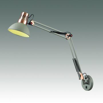 Бра с регулировкой направления света Odeon Light Kapal 3317/1W, 1xE27x60W, серый, медь, металл - миниатюра 2