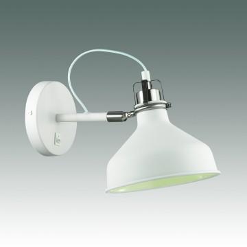 Настенный светильник с регулировкой направления света Odeon Light Lurdi 3331/1W, 1xE27x40W, белый, никель, металл