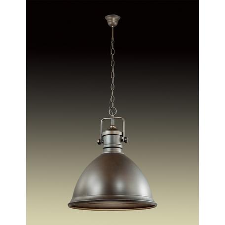 Подвесной светильник Odeon Light Talva 2900/1A, 1xE27x60W, коричневый, металл