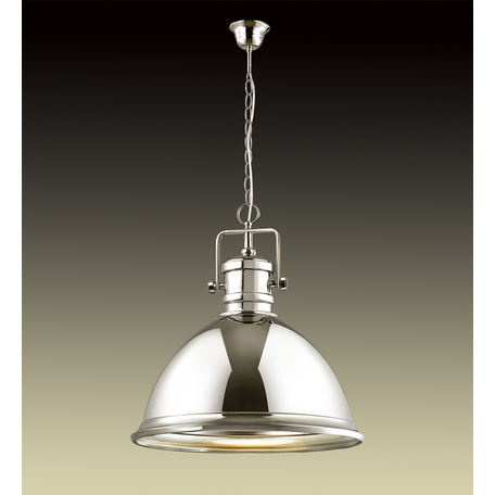 Подвесной светильник Odeon Light Talva 2901/1A, 1xE27x60W, хром, металл