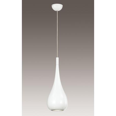 Подвесной светильник Odeon Light Pendant Drop 2906/1, 1xE27x60W, белый, металл