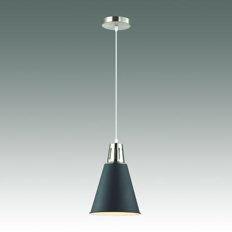 Подвесной светильник Odeon Light Tira 3319/1, 1xE27x60W, хром, черный, металл