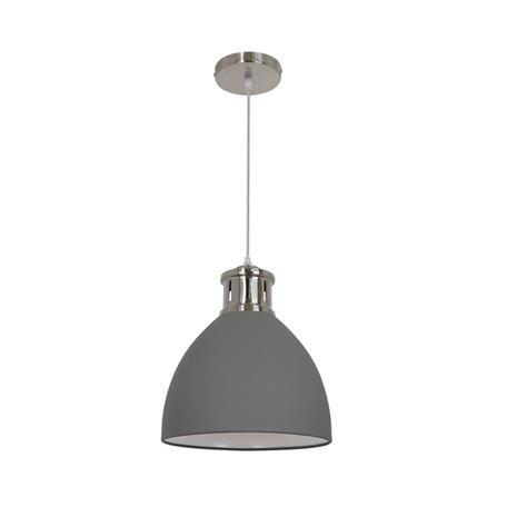 Подвесной светильник Odeon Light Viola 3322/1, 1xE27x60W, никель, серый, металл