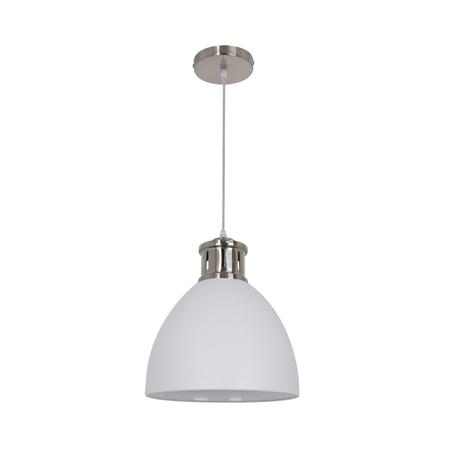 Подвесной светильник Odeon Light Viola 3323/1, 1xE27x60W, никель, белый, металл