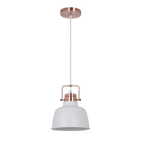 Подвесной светильник Odeon Light Sert 3324/1, 1xE27x60W, медь, белый, металл - миниатюра 1