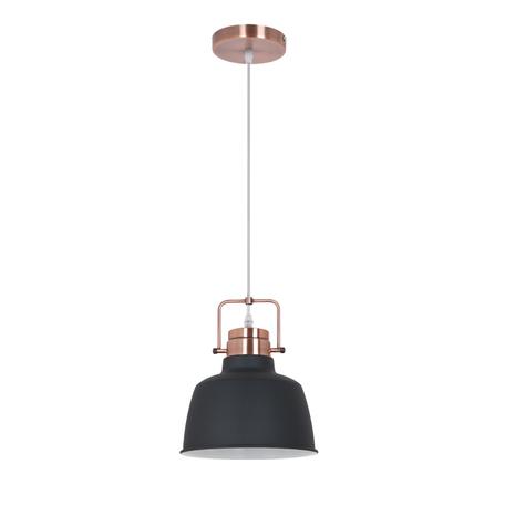 Подвесной светильник Odeon Light Sert 3325/1, 1xE27x60W, медь, черный, металл