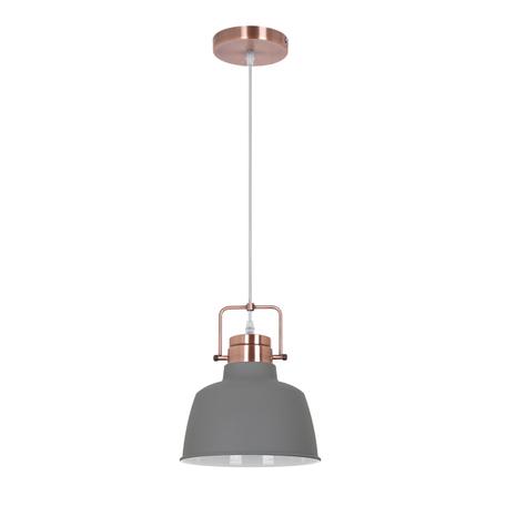 Подвесной светильник Odeon Light Sert 3326/1, 1xE27x60W, медь, серый, металл