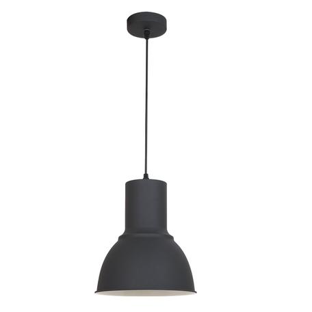 Подвесной светильник Odeon Light Pendant Laso 3327/1, 1xE27x60W, черный, металл