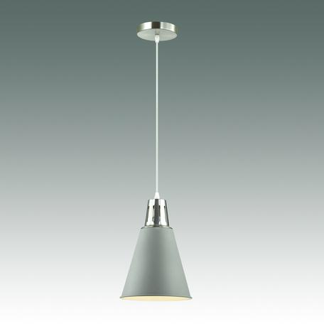 Подвесной светильник Odeon Light Tira 3348/1, 1xE27x60W, хром, серый, металл