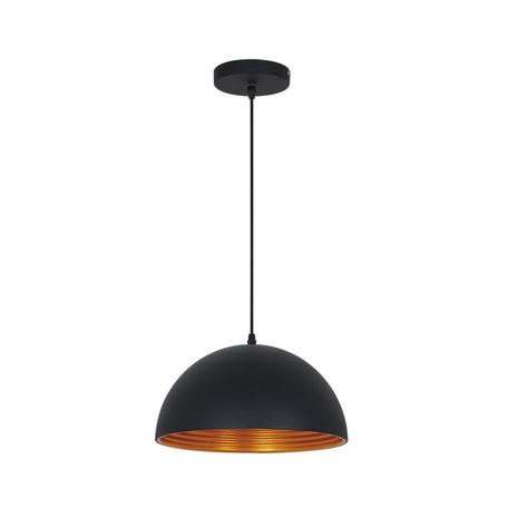 Подвесной светильник Odeon Light Uga 3349/1, 1xE27x60W, черный, металл