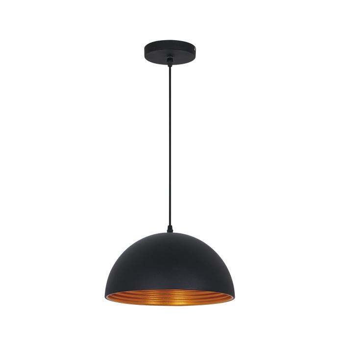 Подвесной светильник Odeon Light Pendant Uga 3349/1, 1xE27x60W, черный, металл - фото 1