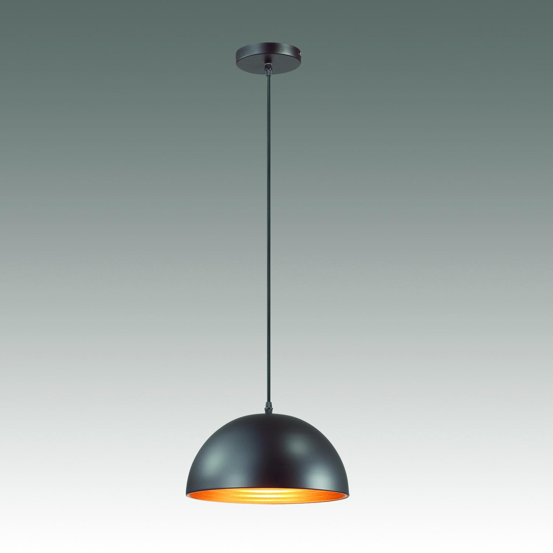 Подвесной светильник Odeon Light Pendant Uga 3349/1, 1xE27x60W, черный, металл - фото 2
