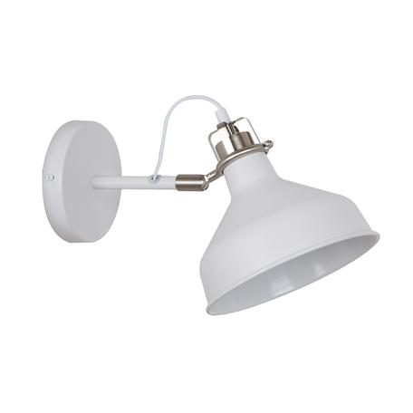 Бра с регулировкой направления света Odeon Light Walli Lurdi 3331/1W, 1xE27x40W, белый, металл