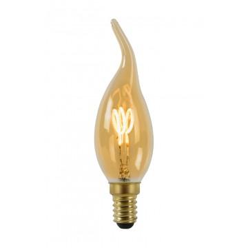 Филаментная светодиодная лампа Lucide 49036/03/62 E14 3W 2200K (теплый)