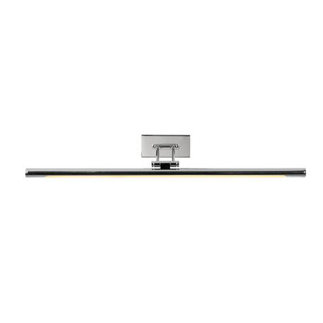 Настенный светодиодный светильник для подсветки картин Lucide Gavin 48202/12/11, IP21, LED 12W 3000K 899lm CRI80, хром, металл, пластик